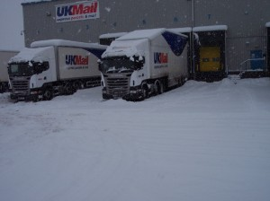 UK economy gridlocks into deep freeze