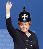 Kaiser Merkel's turn in the firing line