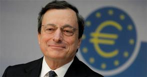 Euro skewered by ECB Chief's negative talk