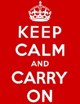 Keep calm and carry on for the Pound